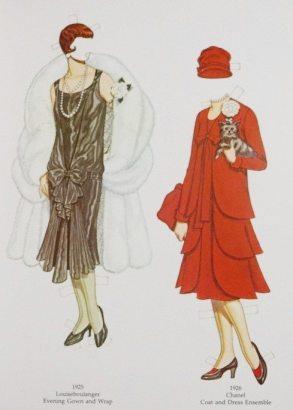 Louiseboulanger evening dress, Chanel suit
