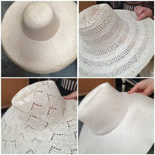 4 straw hat forms