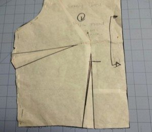 Small bust adjustment - Emery Dress - csews.com