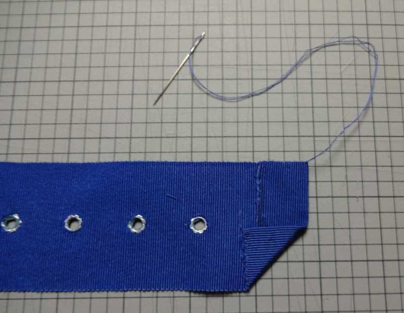 Finishing ribbon belt - csews.com