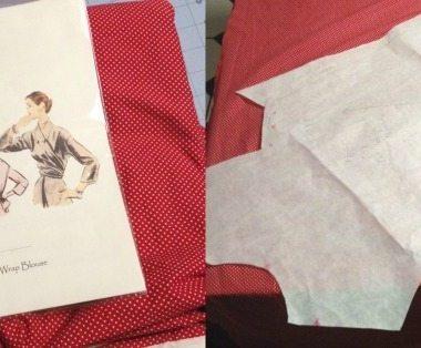 1952 Wrap Blouse - csews.com