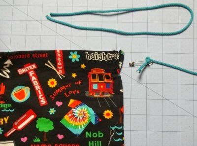 Tutorial: How to make a drawstring bag - csews.com