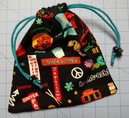 Tutorial: How to make a drawstring bag - DIY - csews.com
