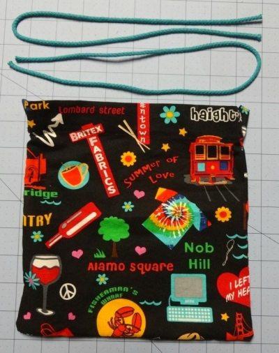 Tutorial: How to make a drawsstring bag - DIY - csews.com