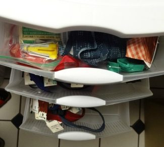 3-drawer storage - Bias tape and zippers - csews.com