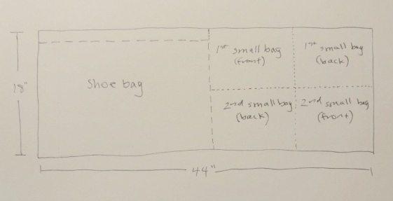 drawstring fabric bag pieces - csews.com