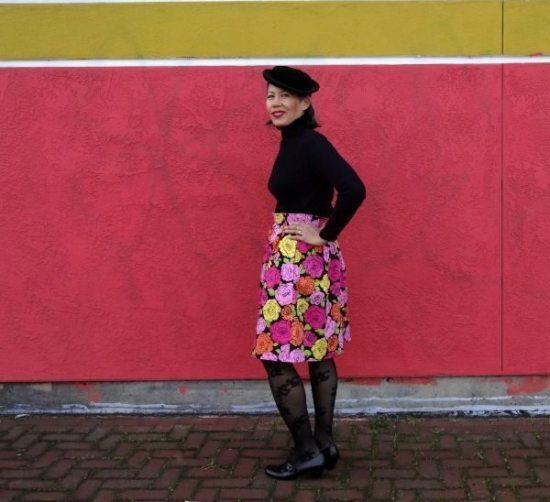 Chardon skirt - belt - left side - csews.com