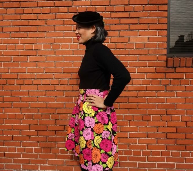Chardon skirt - side - csews.com
