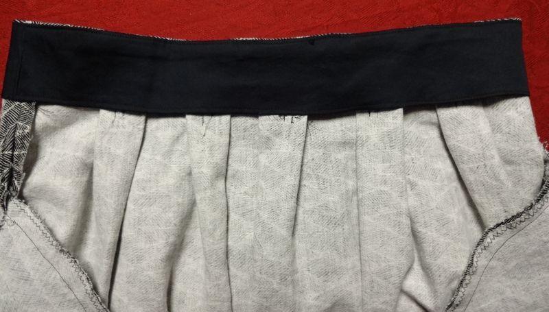Chardon skirt - pleats - csews.com