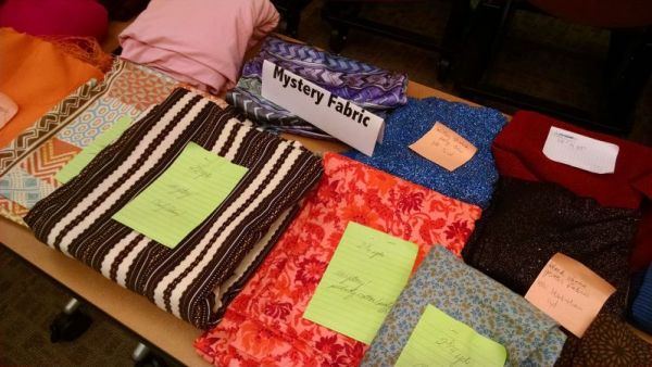 Fabric Swap - Bay Area Sewists meetup group