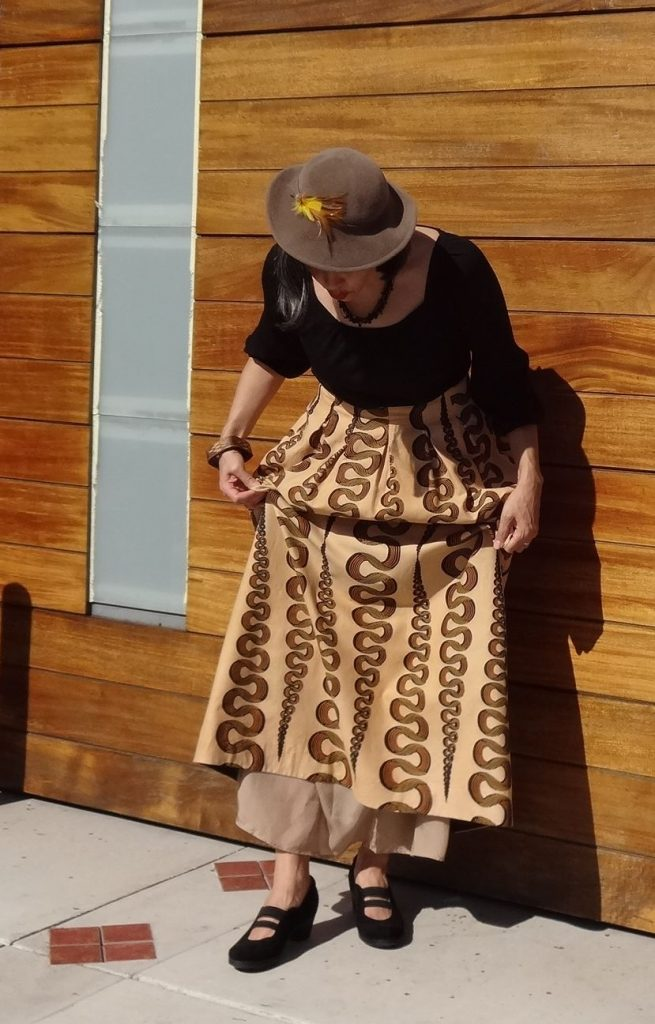 Chardon maxi skirt - lining - csews.com