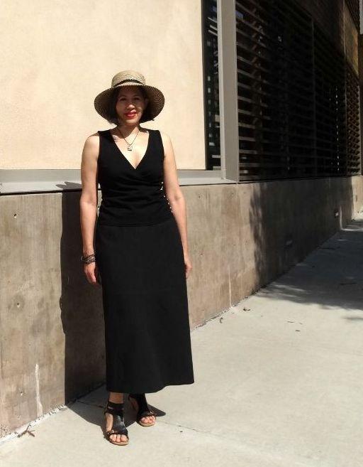 Skirt from Basic Black by Sato Watanbe - Japan Sew Along - csews.com