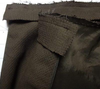 Bias binding at waist - csews.com