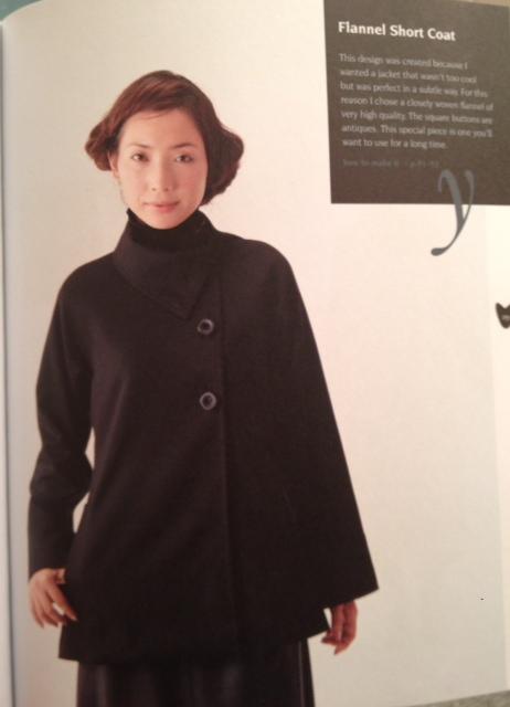 flannel short coat - Basic Black- csews.com
