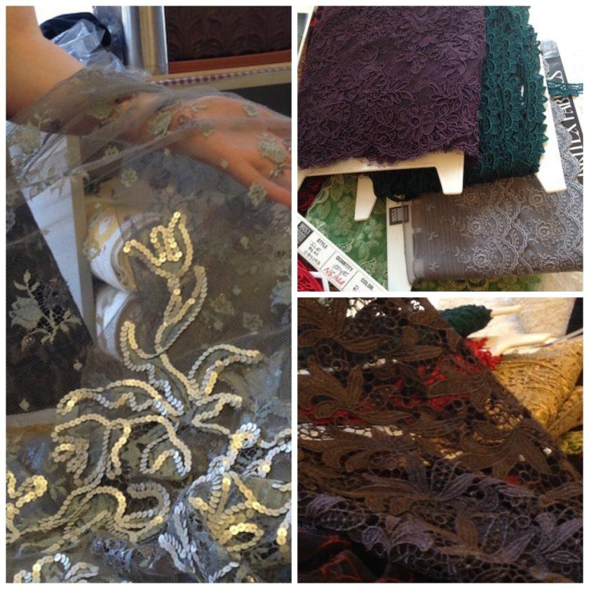 Lace at Britex Fabrics Bay Area Sewists - csews.com