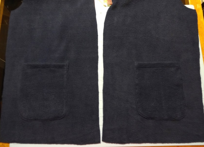 Patch pockets for Newcastle Cardigan - csews.com