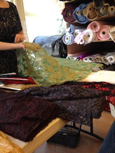 Eyelash fringe on lace - Britex Fabrics - csews.com
