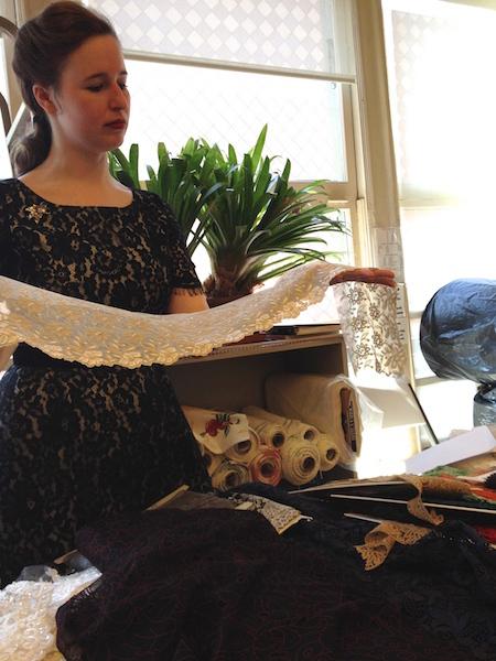 Natalie Wiener - notions floor manager - Britex Fabrics - csews.com