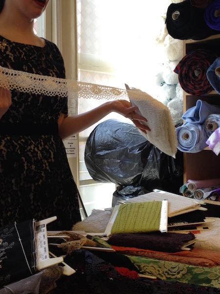 Bobbin lace - Britex Fabrics - csews.com