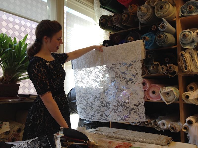 Applique lace - Britex Fabrics - csews.com