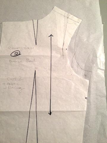 Emery Dress bodice and Simplicity 2439 bodice - csews.com