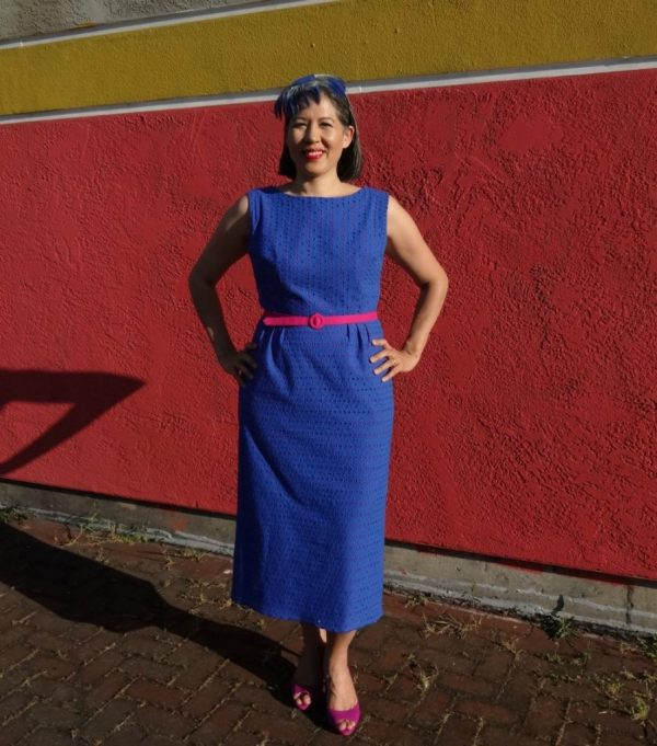 Spring for Cotton - dress from vintage Simplicity 2439 - csews.com