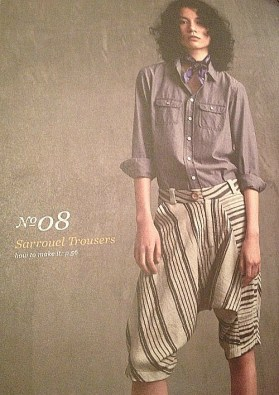 Sarrouel Trousers - She Wears the Pants - Yuko Takada - csews.com