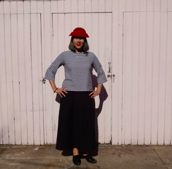 Top - She Wears the Pants- red hat - csews.com