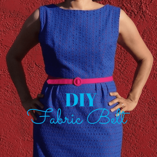 DIY - fabric belt - csews.com