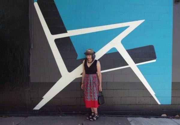Deer and Doe - Chardon linen skirt - front - csews.com
