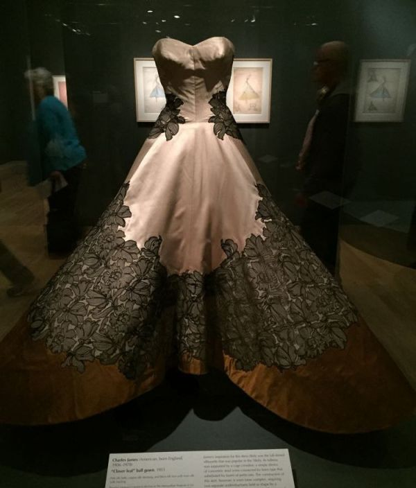 Charles James - clover dress -  Brooklyn Museum costume collection - csews.com