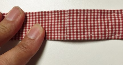 Fabric belt seam - Get Shirty project - Refashion - csews.com