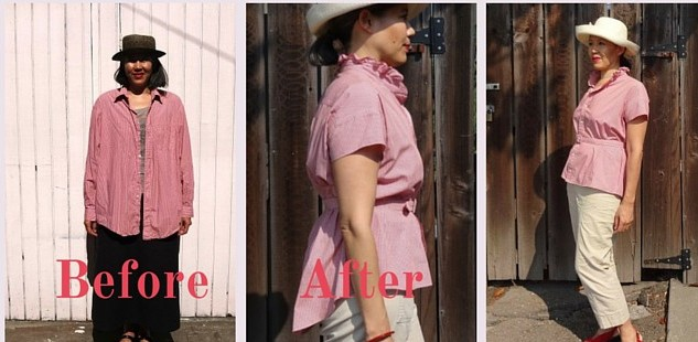 Refashioned shirt - Get Shirty - csews.com
