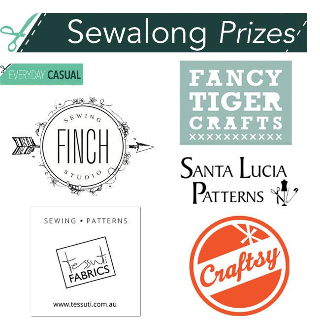 Everyday Casual Sewalong prizes