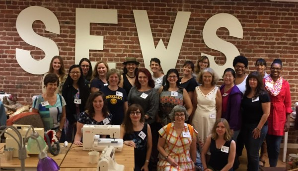 Bay Area Sewists at Sips N Sews