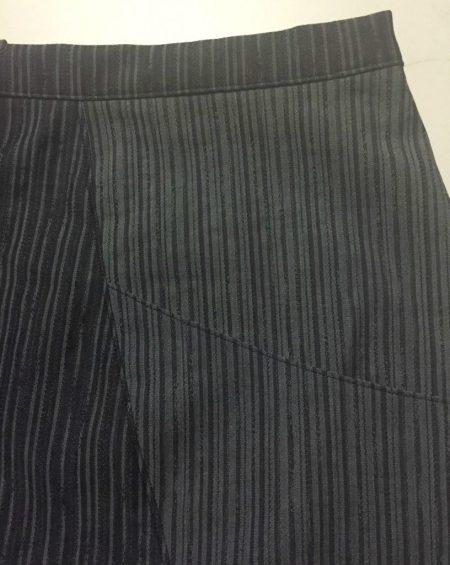 A-Frame Skirt - topstitched pocked - csews.com