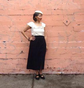 Nita Wrap Skirt - Sew DIY pattern - front view