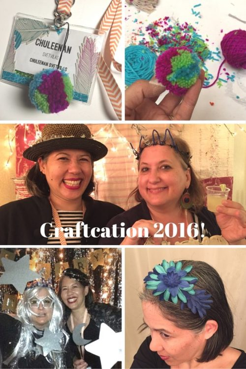Craftcation 2016 - craft tables and party - csews.com