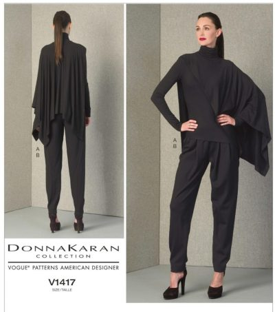 Donna Karan - V1417 Vogue pattern - csews.com