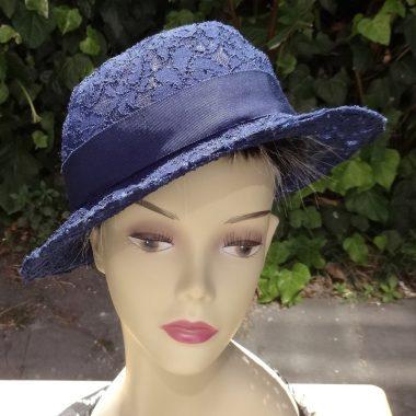 Patricia Underwood lace hat