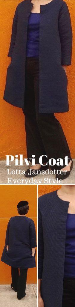 Pilvi Coat - Lotta Jansdotter Everyday Style - CSews.com