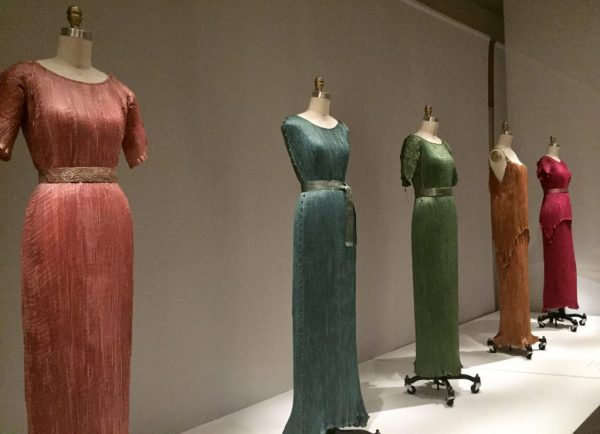 Manus x Machina - Mario Fortuny pleated gowns - 1920s