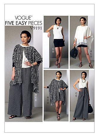 Vogue 9191 - wrap pants - V9191