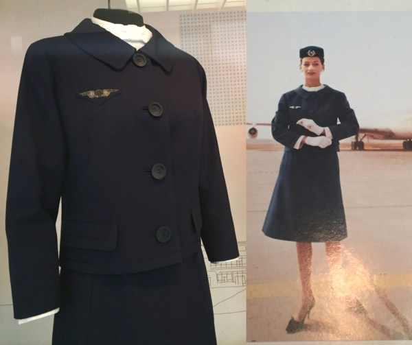 Air France uniform by Christian Dior (courtesy of Air France)