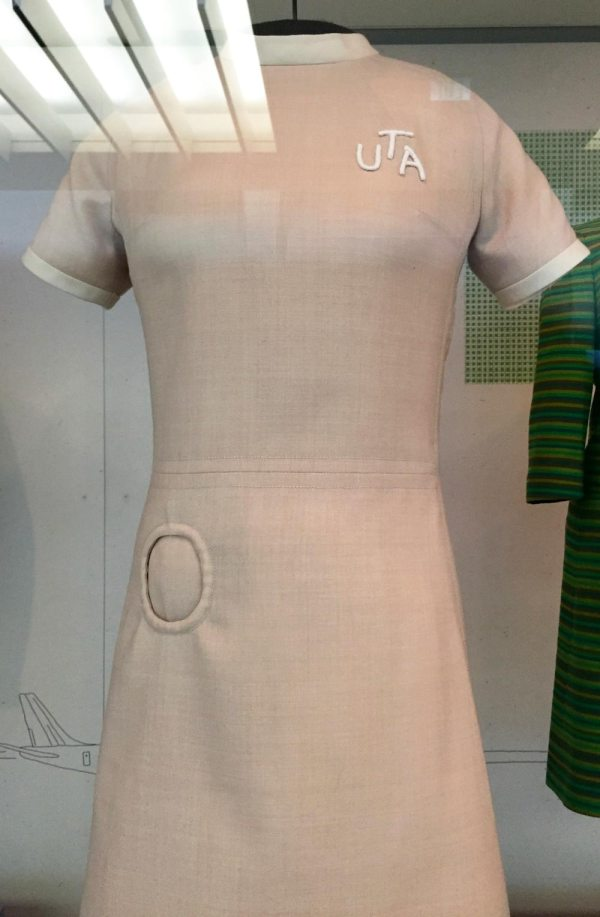 Union de Transport Aériens - uniform designed by Pierre Cardin - 1968