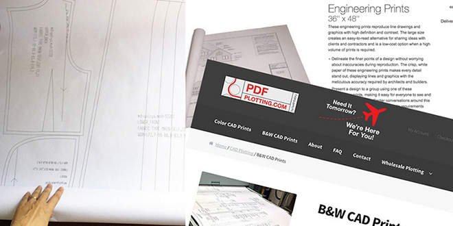 Printing PDF patterns – what are your options?