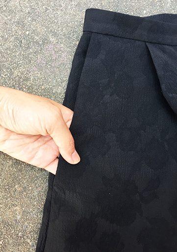 Mimosa Culottes - Named Clothing sewing pattern - pocket detail - CSews.com