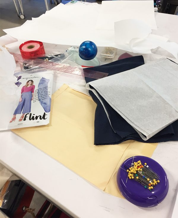Google Garage - sewing project