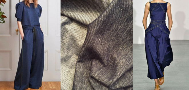 Denim fashion – ensembles v. separates