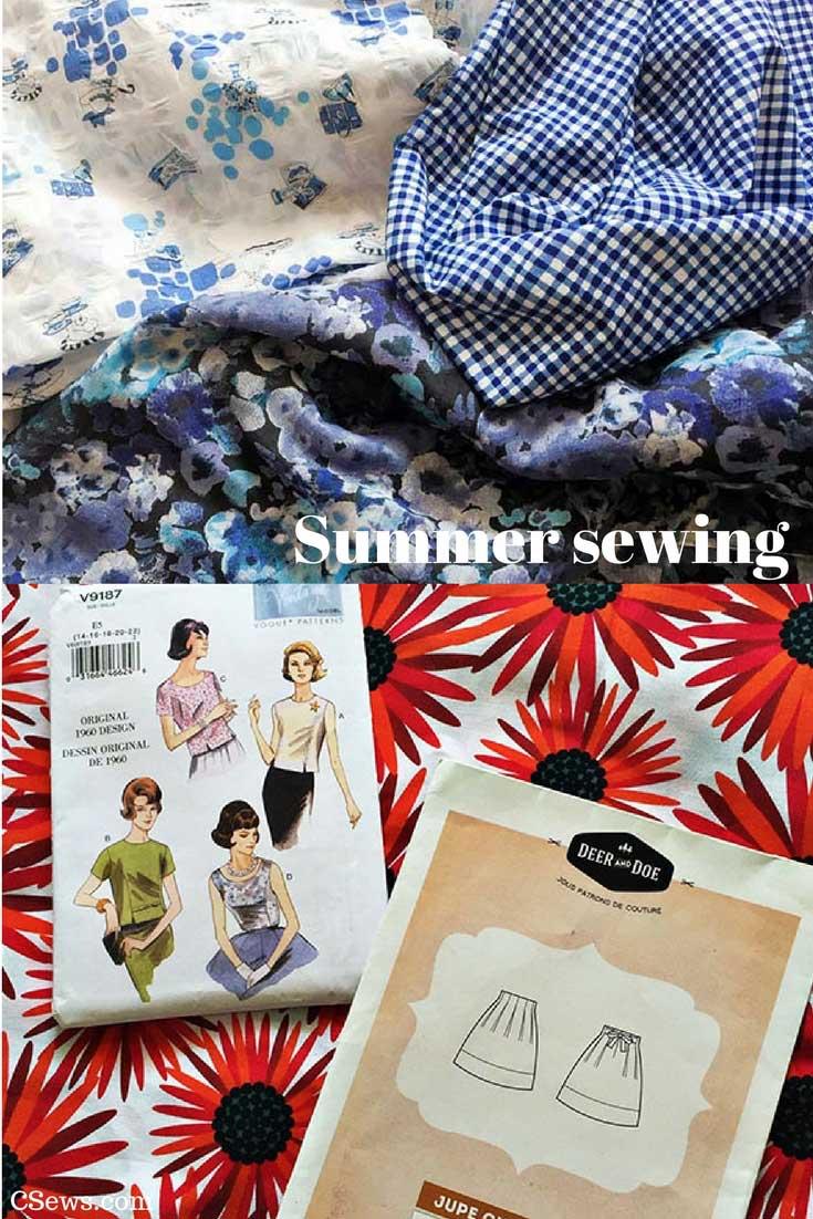 Summer sewing - CSews